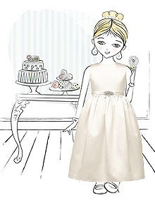 Flower Girl Dress FL4001