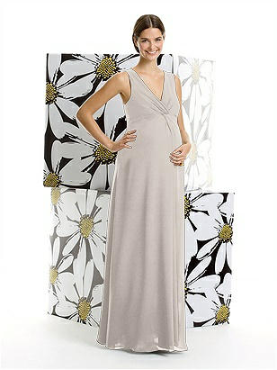 Alfred Sung Maternity Bridesmaid Dress M406 http://www.dessy.com/dresses/bridesmaid/m406/