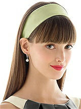 Stretch Charmeuse Headbands, Wide