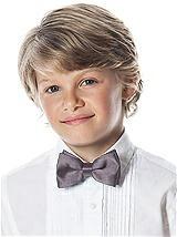 Boy's Clip Bow Tie in Silk Shantung