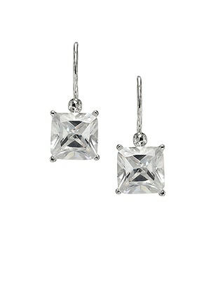 Princess Cut CZ Earrings http://www.dessy.com/accessories/princess-cut-cz-earrings-/