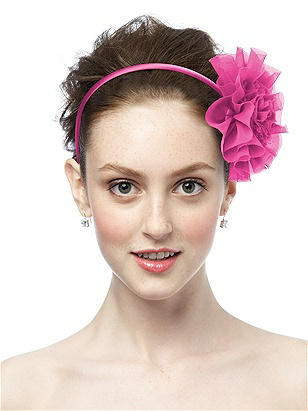 Chiffon Flower http://www.dessy.com/accessories/chiffon-flower/