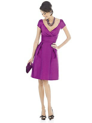 Alfred Sung Bridesmaid Dress D500 http://www.dessy.com/dresses/bridesmaid/d500/