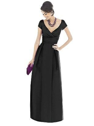 Alfred Sung Bridesmaid Dress D503 http://www.dessy.com/dresses/bridesmaid/d503/