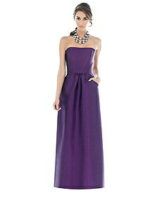 Alfred Sung Bridesmaid Dress D509