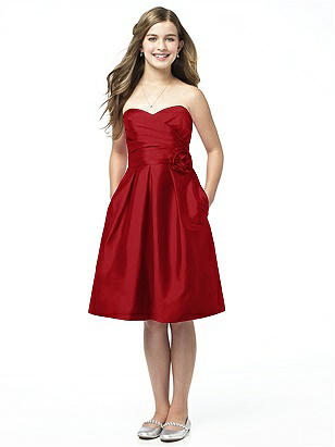 Alfred Sung Junior Bridesmaid style JR506 http://www.dessy.com/dresses/junior-bridesmaid/jr506/