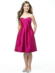 Alfred Sung Junior Bridesmaid style JR504