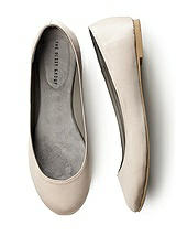 Simple Satin Ballet Flat