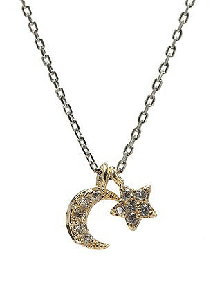 Moon and Star Necklace http://www.dessy.com/accessories/moon-star-necklace/