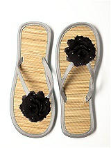 CLOSEOUT - Glimmer Flower Bridesmaid Flip Flop