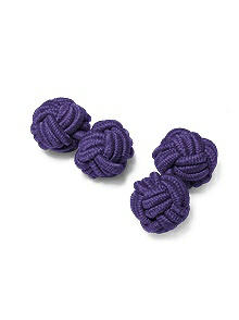 Men's Fabric Knot Cufflinks