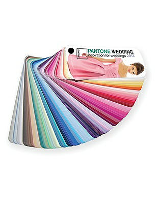 PANTONE WEDDING™ Fan Guide http://www.dessy.com/accessories/pantone-wedding-fan-guide-2013/