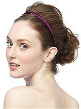 Matte Satin Single Headband