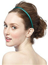 Peau de Soie Covered Headband