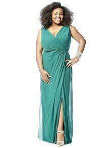 Lovelie Plus Size Bridesmaid Style 9006