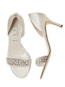 Cappy Pearl  d'Orsay Bridal Shoe