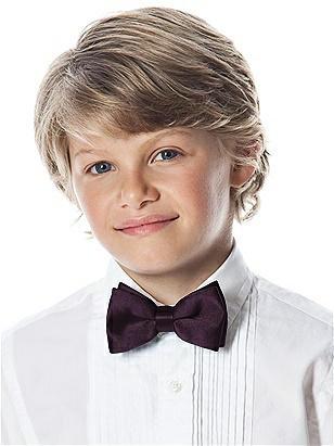 Boy's Clip Bow Tie in Duchess Satin http://www.dessy.com/accessories/boys-clip-duchess-bow-tie/