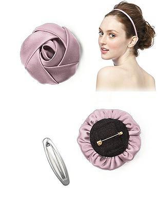 Matte Satin Flower http://www.dessy.com/accessories/matte-satin-flower/