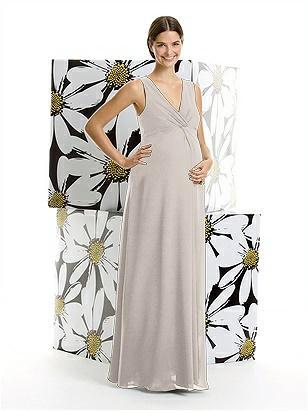 Alfred Sung Maternity Bridesmaid Dress M406 http://www.dessy.com/dresses/bridesmaid/m406/