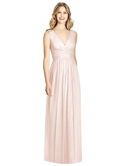 Fine Jenny Packham Blush Sequin Gown Composition - Top Wedding Gowns ...