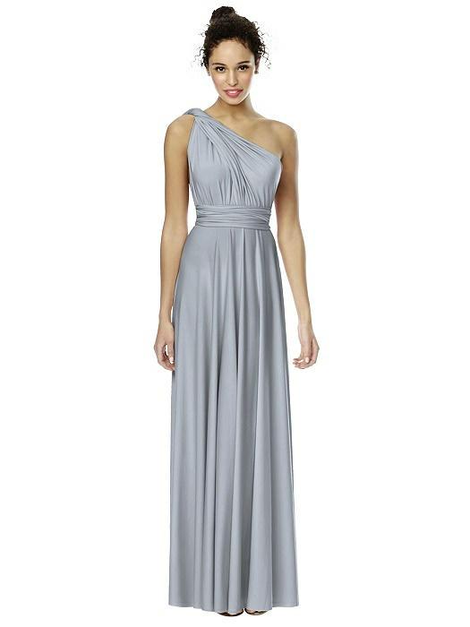 Convertible Wrap Dress The Twist Wrap Dress Long The Dessy Group