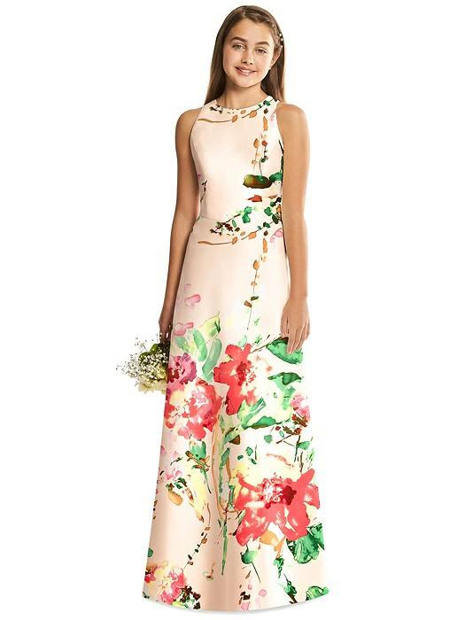 68d085116d7 Home · Bridesmaid Dresses · Alfred Sung Junior Bridesmaid Dress JR545FLOR.  ○  ○