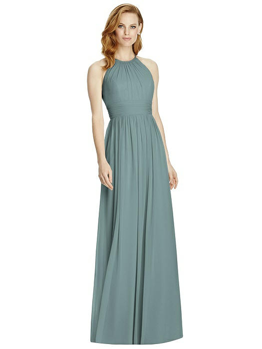 41f96490f8f Studio Design 4511 Halter Long Bridesmaid Dress