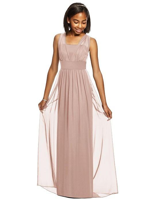 e6766c1d86d5 Dessy Collection Junior Bridesmaid Dress JR543. Fabric: Lux Chiffon
