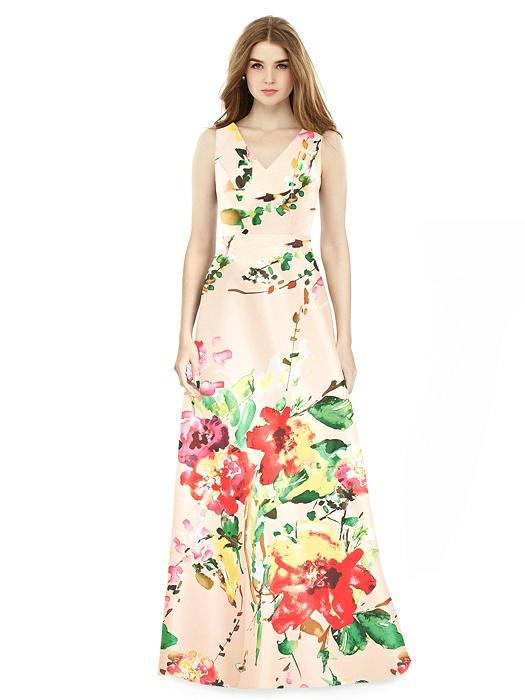 fddf6ce96 Home · Bridesmaid Dresses · Alfred Sung Bridesmaid Dress D754FP. ○; ○
