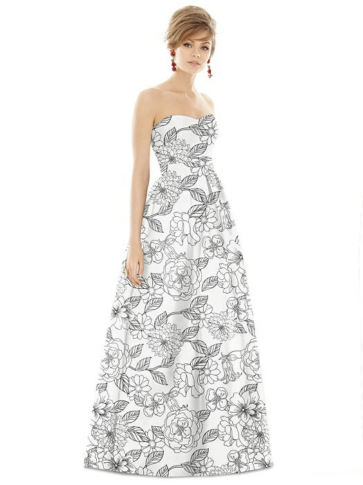 17c77155c Alfred Sung Bridesmaid Dress D755FP | The Dessy Group