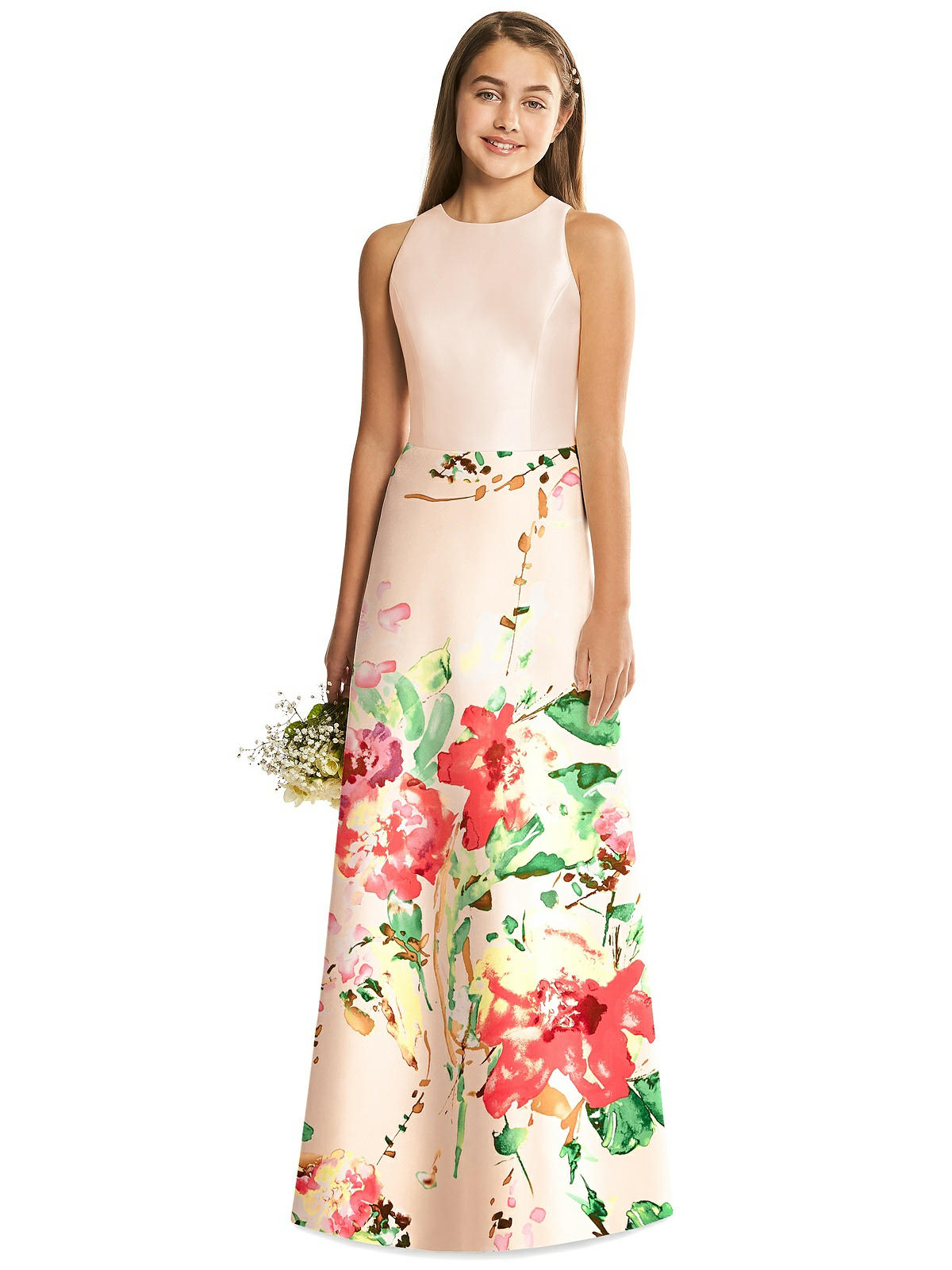 eea73c591 Home · Bridesmaid Dresses · Alfred Sung Junior Bridesmaid Dress JR545CBP.  ○; ○