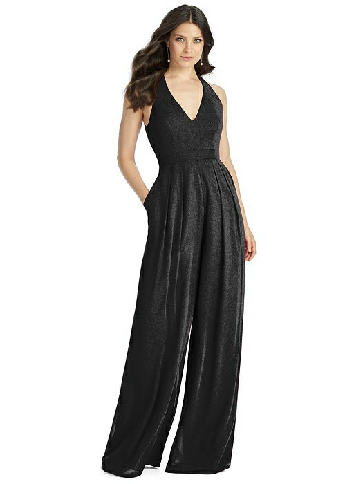 b3e4705b03eb5 Dessy Shimmer Bridesmaid Jumpsuit Arielle LS | The Dessy Group