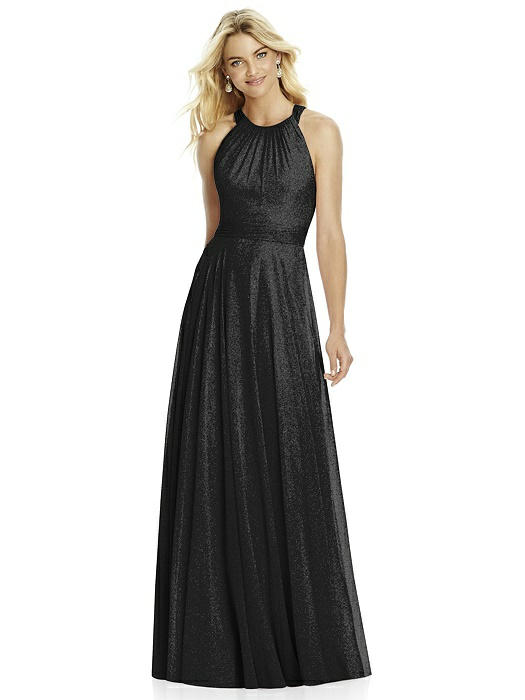 dab168eb498 After Six Shimmer Bridesmaid Dress 6760LS